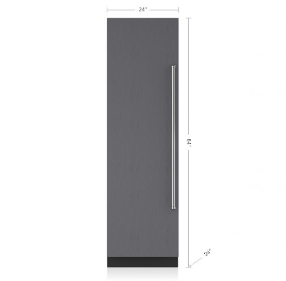 Sub Zero 24 Integrated Column Refrigerator Panel Ready